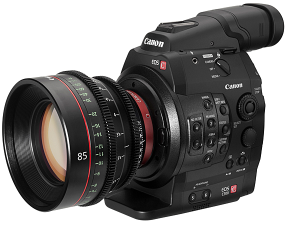Canon EOS C300 Digital Cinema Camera samples