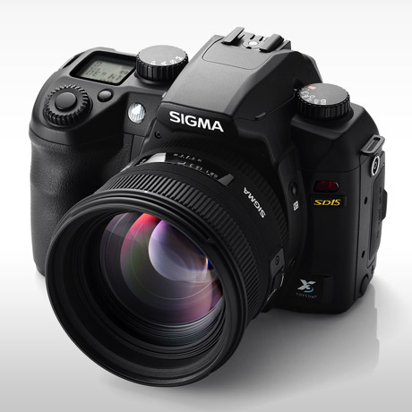 Sigma SD15 Digital SLR dedicated website
